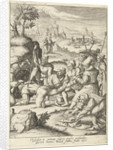 Joseph is thrown into the pit by Lucas van Leyden