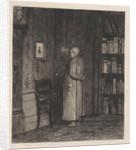 Viewing a portrait by Willem Steelink II