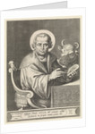 Evangelist Luke by Joannes Galle