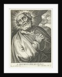 Saint Peter do penance for treason by Martinus van den Enden
