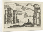 ruins of the Baths of Caracalla by Anonymous