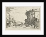 Ruin with Corinthian columns by Anonymous