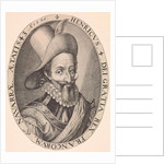 Portrait of Henry IV of France by Hendrick Goltzius