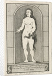 Niche with the statue of a mermaid by Caspar Jacobsz. Philips