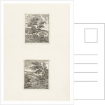 Two landscapes by Jan Matthias Cok