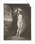 Andromeda Chained to the Rocks by Pieter Schenk I