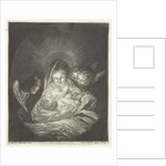 Virgin and Child surrounded by angels by Bernard Picart