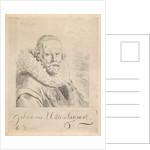 Portrait of John Wtenbogaert by Monogrammist GB
