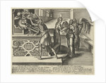 Litigation devours money and property by Hendrick Goltzius