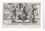 Corrupt rulers and the Spanish Inquisition commit murder by Hendrick Hondius I
