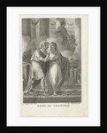 Hero and Leander by Lambertus Antonius Claessens
