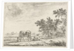 Three cows in pasture by John Janson