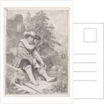 Wounded soldier by David van der Kellen III