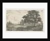 Wooded Landscape with Carriage by Hermanus Jan Hendrik van Rijkelijkhuysen
