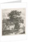 F for a farm on the water by Hermanus Jan Hendrik van Rijkelijkhuysen