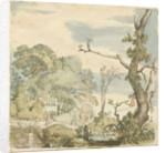 Landscape with trees by Esaias van de Velde