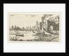 Landscape with a River and gatehouse by Esaias van de Velde