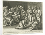 Foot Washing of Peter by Adriaen Collaert