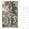 Apollo and a shepherd by Zacharias Webber II