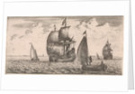 Receipt of the post at sea by Jan Houwens I