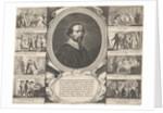 Portrait of priest Martinus van Velden by Theodor Matham