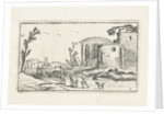 Landscape with Ruins by Johannes Pietersz. Berendrecht