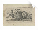 Title print with tools for working the land by Johannes Pietersz. Berendrecht