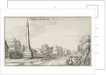 Milestone at Locks by Claes Jansz. Visscher II