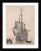 Dutch warship by Gerard Valck