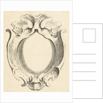 Vertical lobe oval cartouche with large compartment by Johannes Lutma II