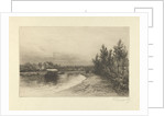 View of a river by Hendrik Dirk Kruseman van Elten