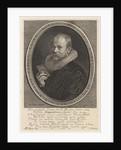 Portrait of Theodorus Schrevelius by Hendrick Focken