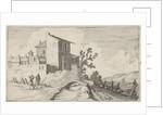 Bridge for walled buildings by Gillis van Scheyndel I