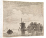 Mill on the water by Hendrik Spilman