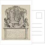 Address Map of Jan Smit, manufacturer of room hangings by Adolf van der Laan