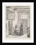 Sitting and standing monk by David van der Kellen III