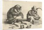 A monkey by David Teniers II