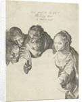 Adoration of the Shepherds by Jacob Matham
