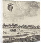View Utrecht (plate I) by Herman Saftleven