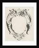 Cartouche with lobe ornament whose edges curl inwards, Michael Mosijn, Gerbrand van den Eeckhout by Clement de Jonghe