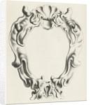 Cartouche with lobe ornament, a top shell shape by Clement de Jonghe
