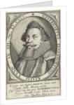 Portrait of Donor Heart Elmenhorst in oval by Johan. Hüswedelius