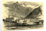 Brieg on the Simplon Switzerland by Anonymous