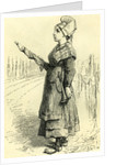 Swiss Lady Switzerland Engraving 19 C by Anonymous