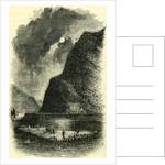 The Lurlie Rock Switzerland by Anonymous