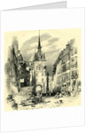 High Street Berne Switzerland by Anonymous