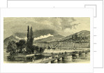 The Lake and City of Geneva Switzerland by Anonymous