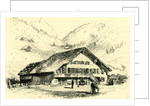 The Pension-Chalet Rougemont Switzerland by Anonymous