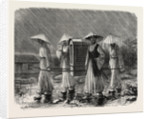 A Corean Palanquin by Anonymous