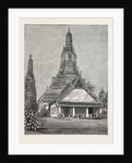A Buddhist Wat, or Temple, at Bangkok, Siam by Anonymous